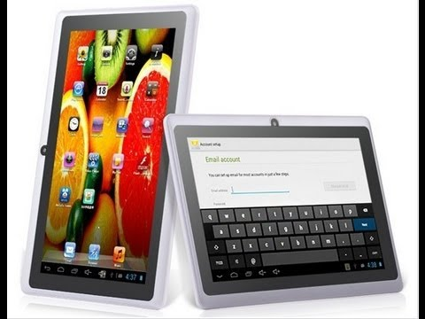 Tablet pc IPPO Y88 DUAL core - unboxing and test