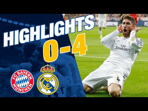 Goals And Highlights | Bayern 0-4 Real Madrid | Champions League