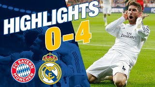 Relive one of real madrid's finest european nights in recent years - the comprehensive 4-0 win at bayern munich 2014, which featured goals by sergio ramos...