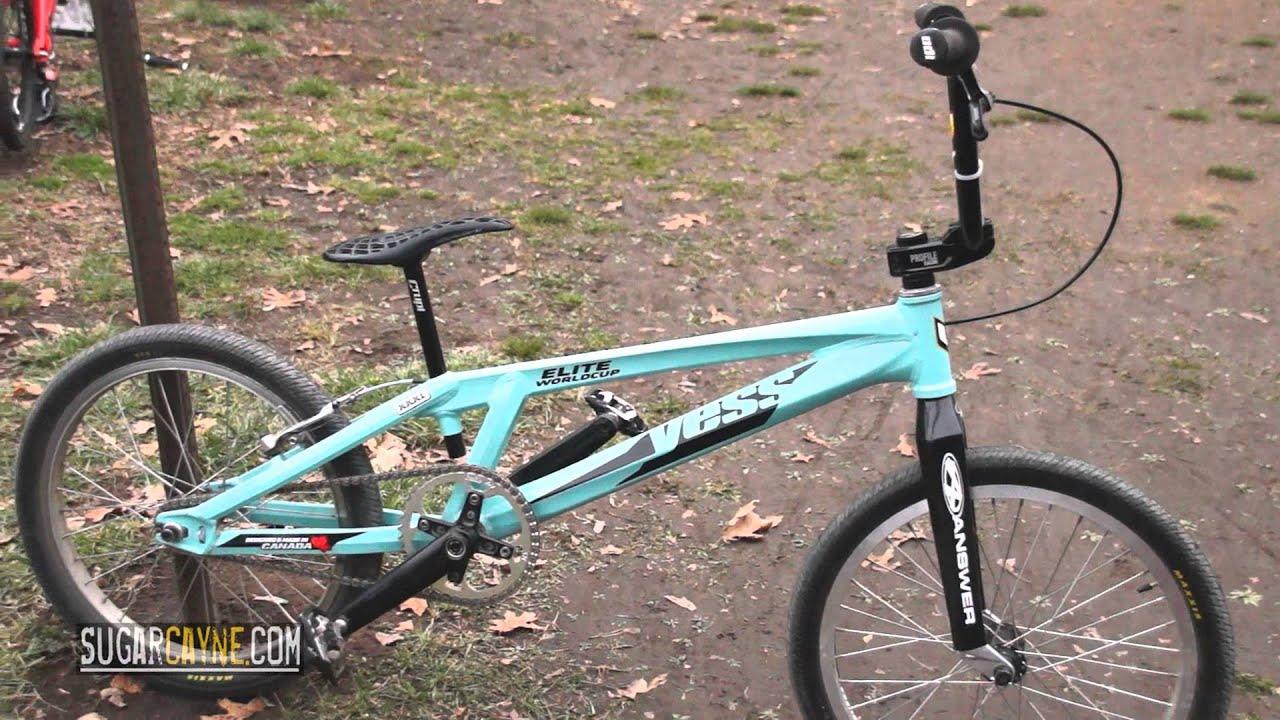 2016 Yess BMX Elite World Cup XXXL Bike Check - YouTube