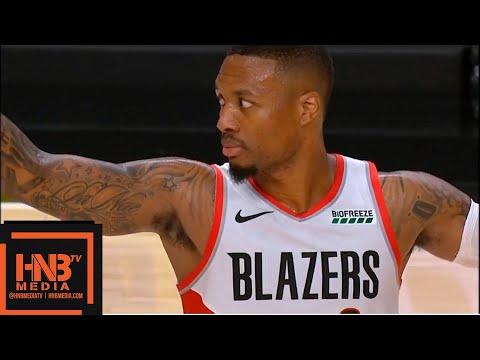 Utah Jazz vs Portland Trail Blazers 1st Half Highlights | 1.0.2018, NBA Preseason