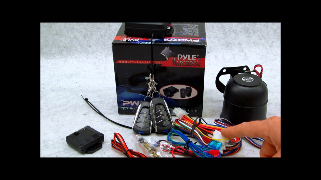 maxresdefault pyle pwd701 car alarm system review youtube pwd701 wiring diagram at soozxer.org