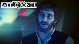 STAR WARS: BATTLEFRONT 2 All Han Solo Scenes