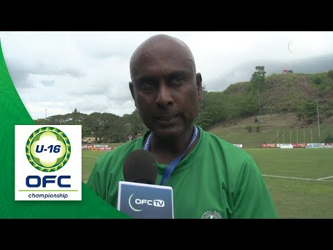 2018 OFC U16 CHAMPIONSHIP - Samoa v Fiji - Post Match Interview