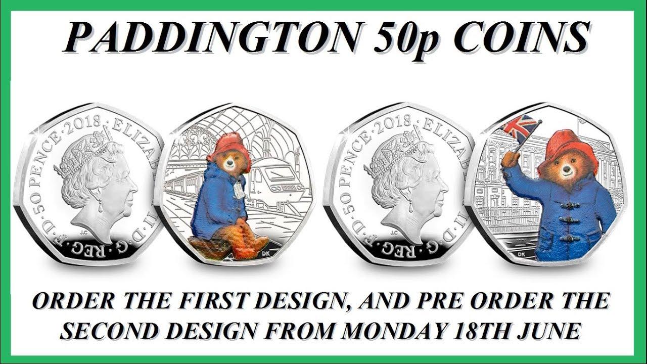 paddington bear 50p coins # 69