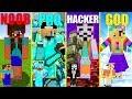 MINECRAFT BATTLE: NOOB vs PRO vs HACKER vs GOD: MEET BEST GIRL CHALLENGE in MINECRAFT Animation