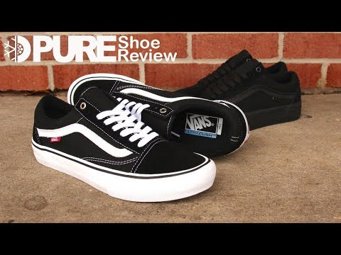 e0220a40f85 Vans Old Skool Pro Skate Shoes Review - pureboardshop.com - YouTube