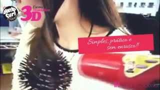 3d bomb curl brush | Escova Modeladora | CarolineCarolBella