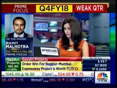 Namit Malhotra, Founder, Executive Chairman and Global CEO, Prime Focus in talks with CNBC TV18