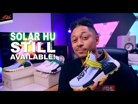 Pharrell Williams Solar HU NMD - Still Available!