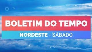 Previsão Nordeste – Muita chuva entre Sergipe e João Pessoa