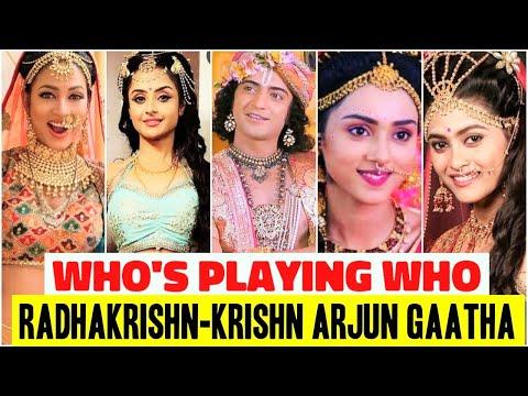 Radhakrishn Krishn Arjun Gaatha Full Star Cast Who S Playing Who In The Show Mallika Singh Youtube