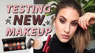 TESTING NEW (& very exciting!) MAKEUP | Jamie Paige