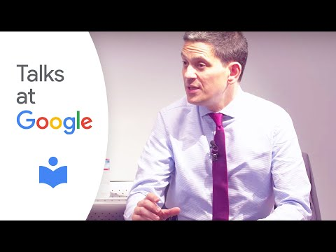 "David Miliband: ""Partnering with Tech to Support Refugees"" 