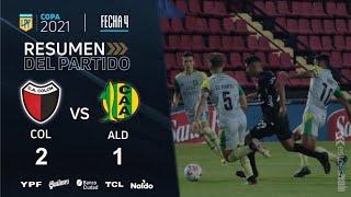 Copa De La Liga   Fecha 4   resumen de Colón - Aldosivi