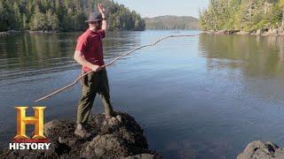 Alone: Ted Goes Fishing (Season 4, Episode 2) | History