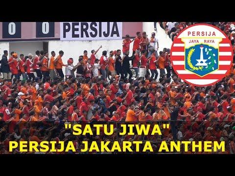 MERINDING! SATU JIWA - PERSIJA JAKARTA ANTHEM LIVE FROM MANAHAN STADIUM (PIALA PRESIDEN 2018)