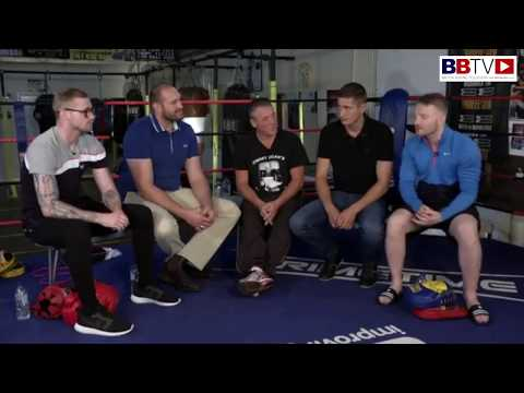 TYSON FURY: TRIP DOWN MEMORY LANE WITH LADS FROM HIS AMATEUR CLUB, JIMMY EGAN'S