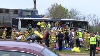 Deadly Biloxi bus crash highlights spike in accidents at rail crossings
