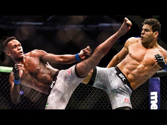 Israel Adesanya vs Paulo Costa - Epic Battle