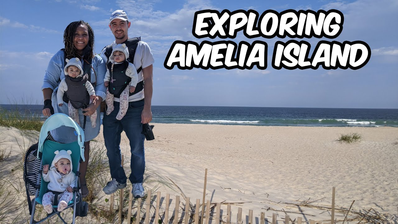 Exploring Amelia Island with the Bray Triplets!