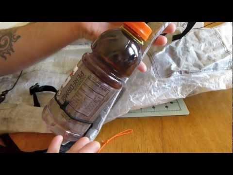 DIY Shoulder Strap Water Bottle Holder