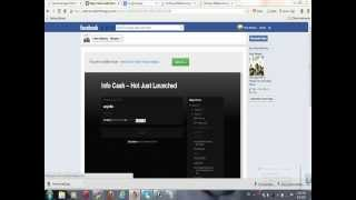 Make Money With Face Book & Use HTML Tab