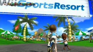 Wii Sports Resort - Cycling Road Race - Around The Island - Happy Kids Games And Tv