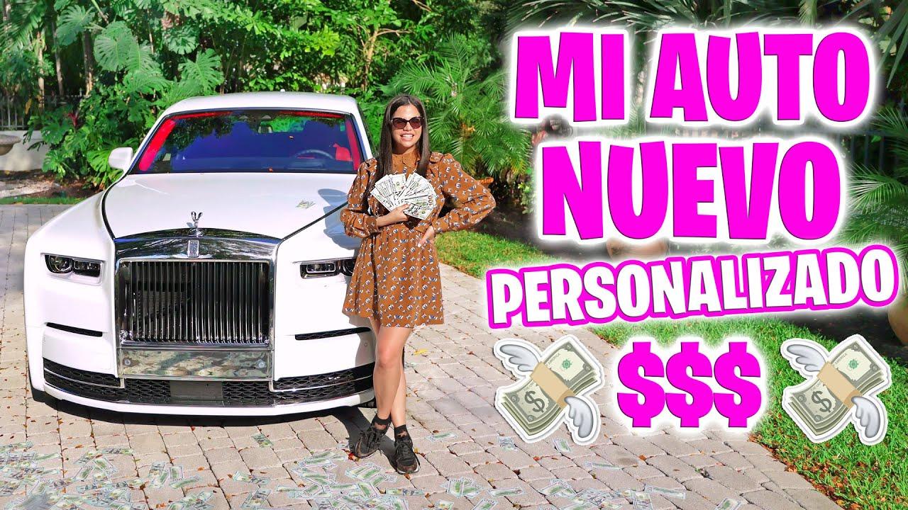 Mi Regalo de Cumpleaños! UN AUTO NUEVO Rolls Royce Phantom PERSONALIZADO! El Mundo de Camila