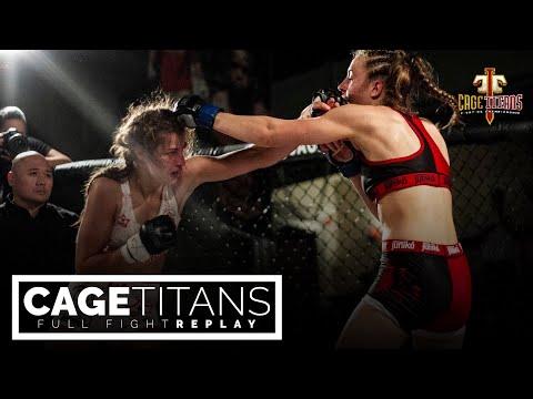 Cage Titans Combat Night II: Kylie O'Hearn vs Jasmine Jasudavicius