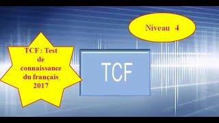 TCF : test de structure de la langue 2017 Vidéo 4 avec les corigés