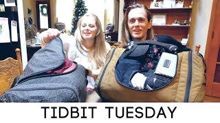 Whats REALLY in our bags after 1 year of travel #tidbittuesday