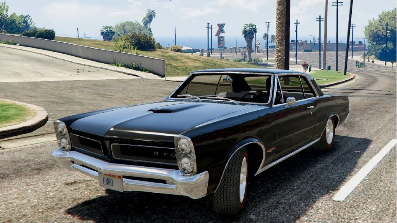 1967 Pontiac GTO Convertible (SOLD) - YouTube