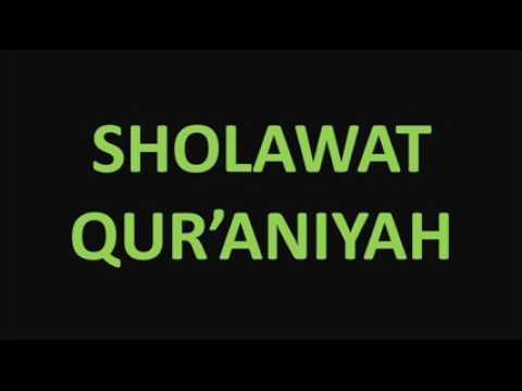 Sholawat Qur'aniyah Merdu sekali