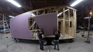 A D.i.y. Tiny House Build: In Motion Shed Tiny House - 8 Min.
