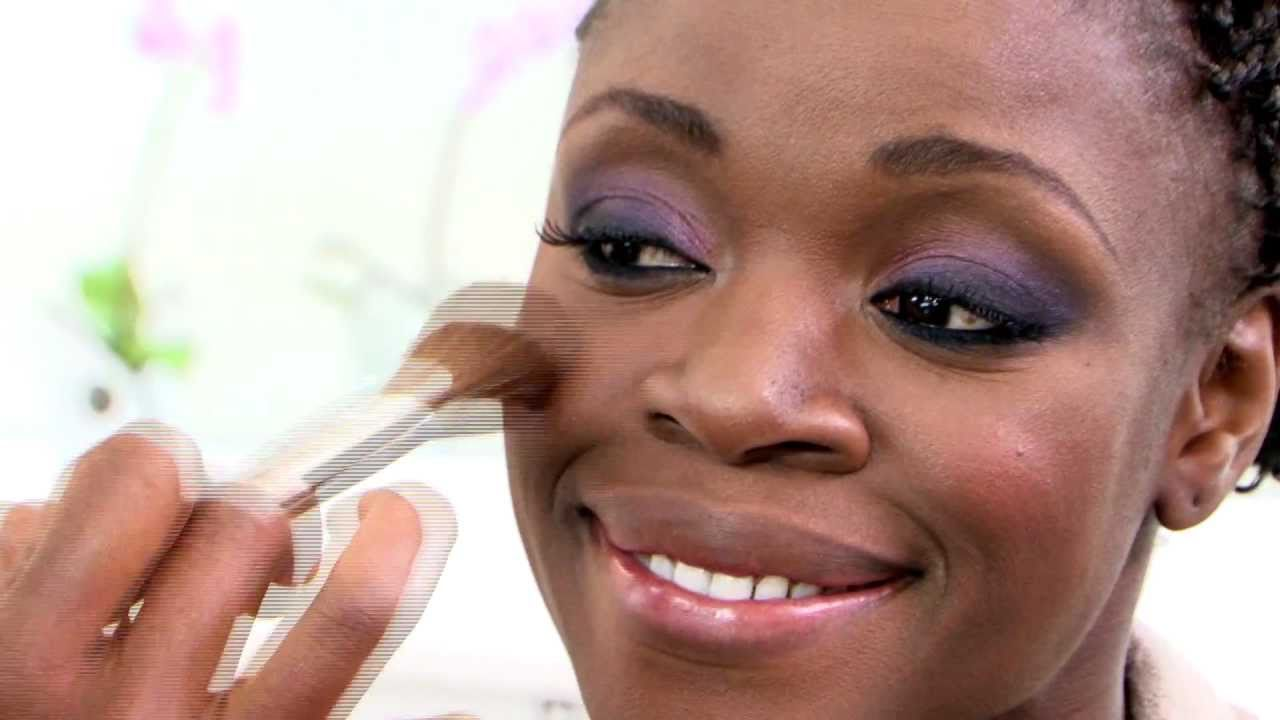 Dark Skin Makeup Tutorial (pt2) Deep Brown Corrector & Foundation - YouTube