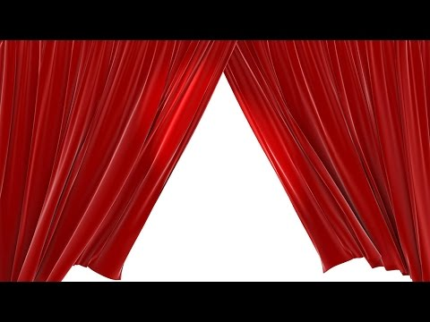Closing Red Velvet Theater Curtains