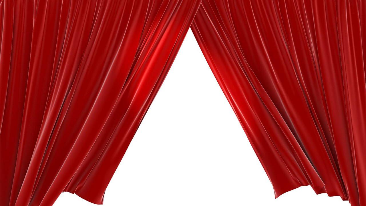 Closing Red Velvet Theater Curtains