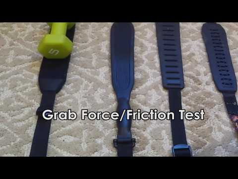 Blend-In Ultimate Grip Anti-Slip Gun Sling - Grab Force / Friction Test