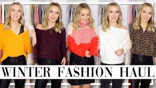 XXL WINTER TRY ON HAUL - Die schönsten Pullis! ASOS, NAKD, ONLY... TheBeauty2go