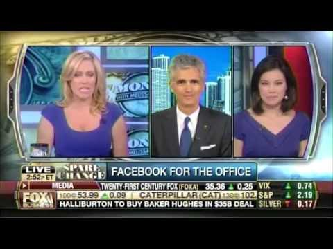 Bruce Turkel on Fox Business: Facebook for the office, Google's Nest ads and Google Glass.