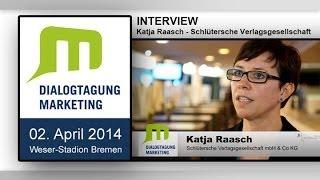 Interview Katja Raasch - Schlütersche Verlagsgesellschaft - Thema Online Marketing - Ort Bremen