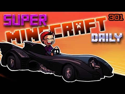 THE BATMOBILE! | Super Minecraft Daily | Ep.301