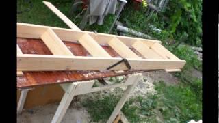 Складная лестница на чердак своими руками(Это видео создано с помощью видеоредактора YouTube (http://www.youtube.com/editor), 2014-02-12T05:38:29.000Z)