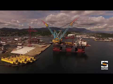 Saipem 7000 - Hywind Scotland Mating Operations