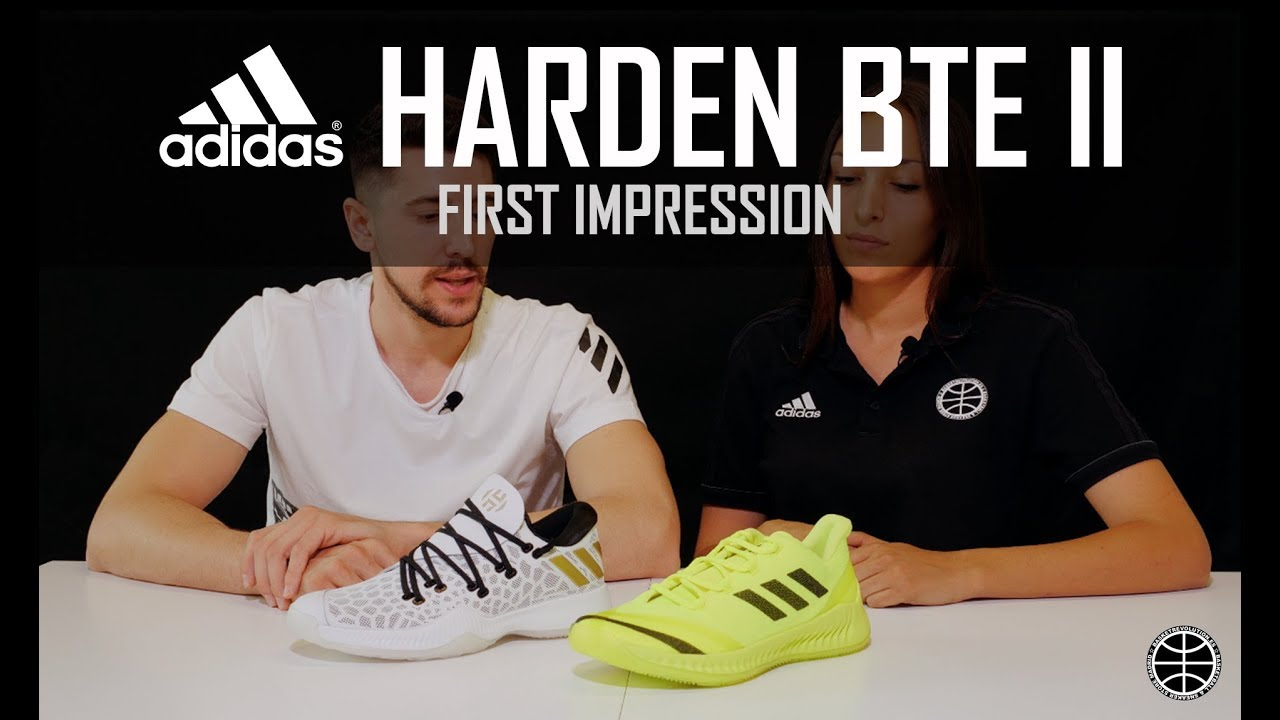 302e65510d8 ADIDAS HARDEN BTE II - FIRST IMPRESSION - YouTube