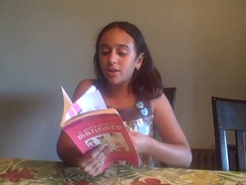 A Smart Girl's Guide To Manners By American Girl