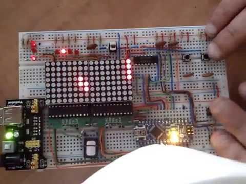 tetris on an Arduino Nano with sound