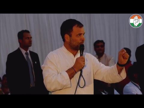 LIVE: CP Rahul Gandhi, Priyanka Gandhi Vadra and Jyotiraditya Scindia address Party Workers