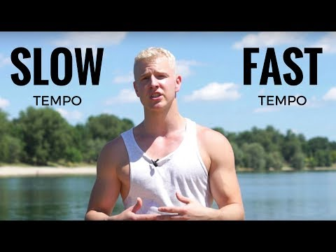 Slow Tempo vs. Fast Tempo Training